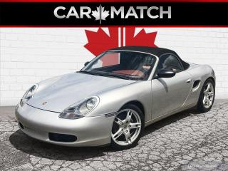 Used 1998 Porsche Boxster NO ACCIDENTS / 5-SPEED / ORANGE LEATHER for sale in Cambridge, ON