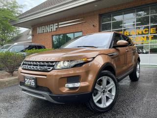 Used 2015 Land Rover Range Rover Evoque Pure City Moon Roof Navi Front & Rear Park Assist* for sale in Concord, ON