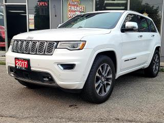 Used 2017 Jeep Grand Cherokee 4WD 4dr Overland for sale in Bowmanville, ON