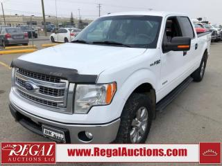 Used 2013 Ford F-150 XLT SUPERCREW 4WD 3.5L for sale in Calgary, AB