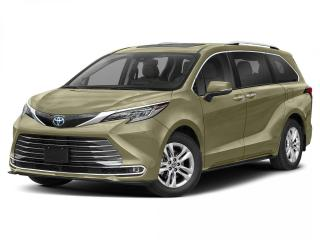 New 2021 Toyota Sienna LIMITED for sale in Winnipeg, MB