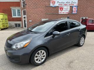 2014 Kia Rio LX 1.6L/ONE OWNER/NO ACCIDENT/SAFETY INCLUDED