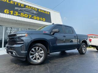 Used 2019 Chevrolet Silverado 1500 RST! One Owner! Clean CarFax! Z71 Package! Heated Seats! Remote Start! for sale in Kingston, ON