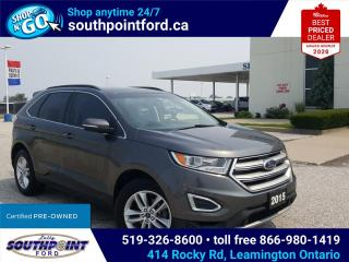 Used 2015 Ford Edge SEL|HTD SEATS|REMOTE START|TOW PKG|BACK UP CAMERA for sale in Leamington, ON