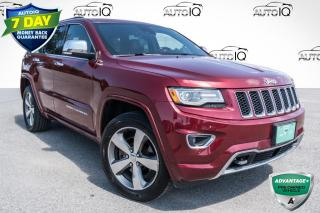 Used 2015 Jeep Grand Cherokee Overland HEATED SEATS!! PANORAMIC MOONROOF!!! FULLY LOADED!!! for sale in Barrie, ON