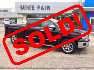 Used 2014 GMC Sierra 1500 SLT Remote Keyless Entry, Remote Start, Rear Vision Camera, Heated/Vented Front Seats for sale in Smiths Falls, ON
