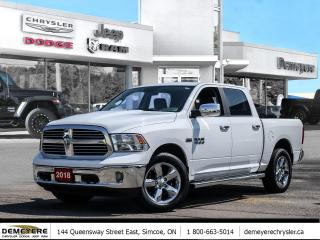 Used 2018 RAM 1500 BIG HORN | REMOTE START | BUCKET SEATS for sale in Simcoe, ON