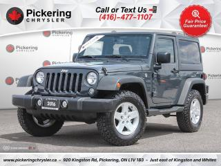 Used 2016 Jeep Wrangler Sport - AUTOMATIC/AC/POWER GROUP/HARDTOP for sale in Pickering, ON