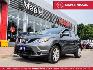 Used 2018 Nissan Qashqai SV Blind Spot Backup Camera Bluetooth Remote Start for sale in Maple, ON
