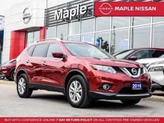 Used 2016 Nissan Rogue SV AWD Moonroof Bluetooth Backup Camera for sale in Maple, ON