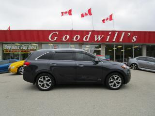 Used 2017 Kia Sorento SX! CLEAN CARFAX! 7 PASS! NV! SUNROOF! for sale in Aylmer, ON