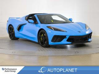 Used 2021 Chevrolet Corvette Stingray, 1LT, Yellow Calipers/Seat Belts! for sale in Brampton, ON