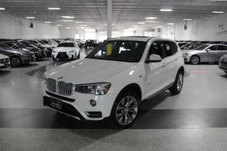 Used 2017 BMW X3 XDRIVE28i I NAVIGATION I PANOROOF I REAR CAMERA I PUSH START for sale in Mississauga, ON