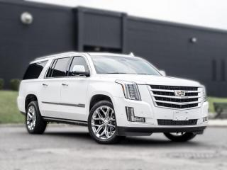 Used 2018 Cadillac Escalade ESV Premium Luxury |NAV|ROOF|B.SPOT|DVD|HUD|CLEANCARFAX for sale in North York, ON
