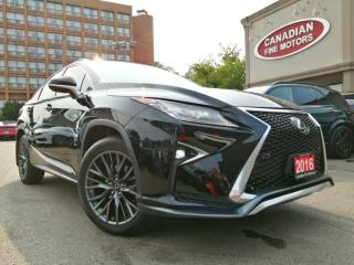 Used 2016 Lexus RX 350 F-SPORT PGK / CAM / NAV / ROOF for sale in Scarborough, ON