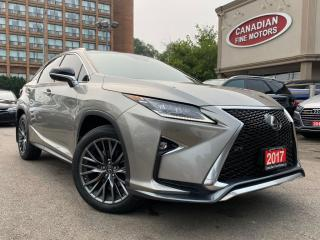 Used 2017 Lexus RX 350 F-SPORT PKG / NAV / CAM / ROOF / LEATHER for sale in Scarborough, ON