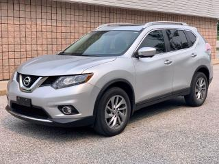 Used 2015 Nissan Rogue SL | AWD | NAVI | BACK-UP CAM | PANO ROOF | for sale in Barrie, ON