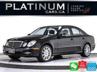 Used 2007 Mercedes-Benz E-Class E550 4MATIC, V8, AWD, NAVIGATION, HEATED, BT for sale in Toronto, ON