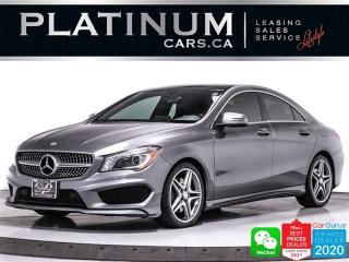 Used 2016 Mercedes-Benz CLA-Class CLA250 4MATIC, NAV, CAM, PANO, HEATED, BT for sale in Toronto, ON