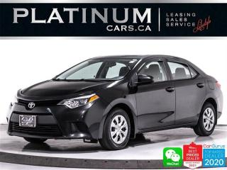 Used 2014 Toyota Corolla L, AUTOMATIC, SUNROOF, AC, BT, CRUISE CONTROL, USB for sale in Toronto, ON