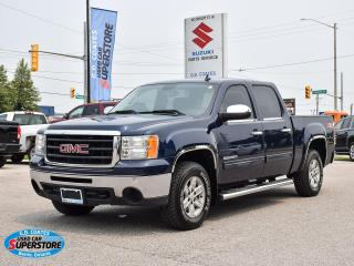 Used 2010 GMC Sierra 1500 SLE Z71 Crew Cab 4x4 ~5.3L V8 ~Trailer Tow ~Steps for sale in Barrie, ON