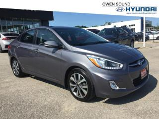 Used 2016 Hyundai Accent SE- 1 owner & Sunroof !!! for sale in Owen Sound, ON