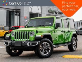 Used 2019 Jeep Wrangler Unlimited Sahara 4x4 Heated Seats Nav & Sound Grp Remote Start for sale in Thornhill, ON