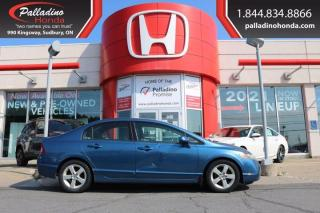 Used 2008 Honda Civic Sdn LX - SELF CERTIFY - for sale in Sudbury, ON