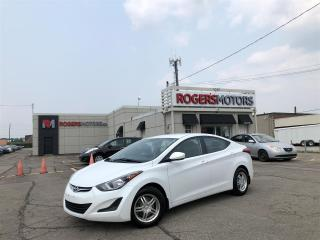Used 2016 Hyundai Elantra - 6 SPD - 4.99% Financing for sale in Oakville, ON