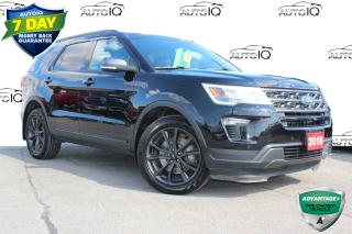Used 2018 Ford Explorer XLT 7 passenger leather pano roof navi awd for sale in Hamilton, ON