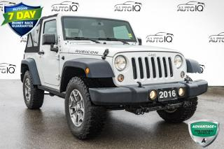 Used 2016 Jeep Wrangler Rubicon LOW MILEAGE RUBICON | DUAL TOP for sale in Innisfil, ON