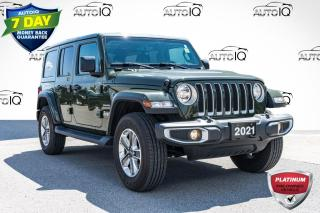Used 2021 Jeep Wrangler Unlimited Sahara LOW MILEAGE SAHARA | NAVIGATION for sale in Innisfil, ON