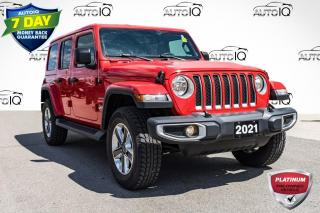 Used 2021 Jeep Wrangler Unlimited Sahara NAVIGATION | HARD TOP for sale in Innisfil, ON