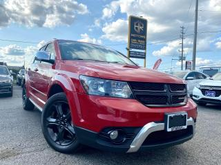 Used 2018 Dodge Journey No Accidents | Crossroad AWD |Sun roof |Certified for sale in Brampton, ON