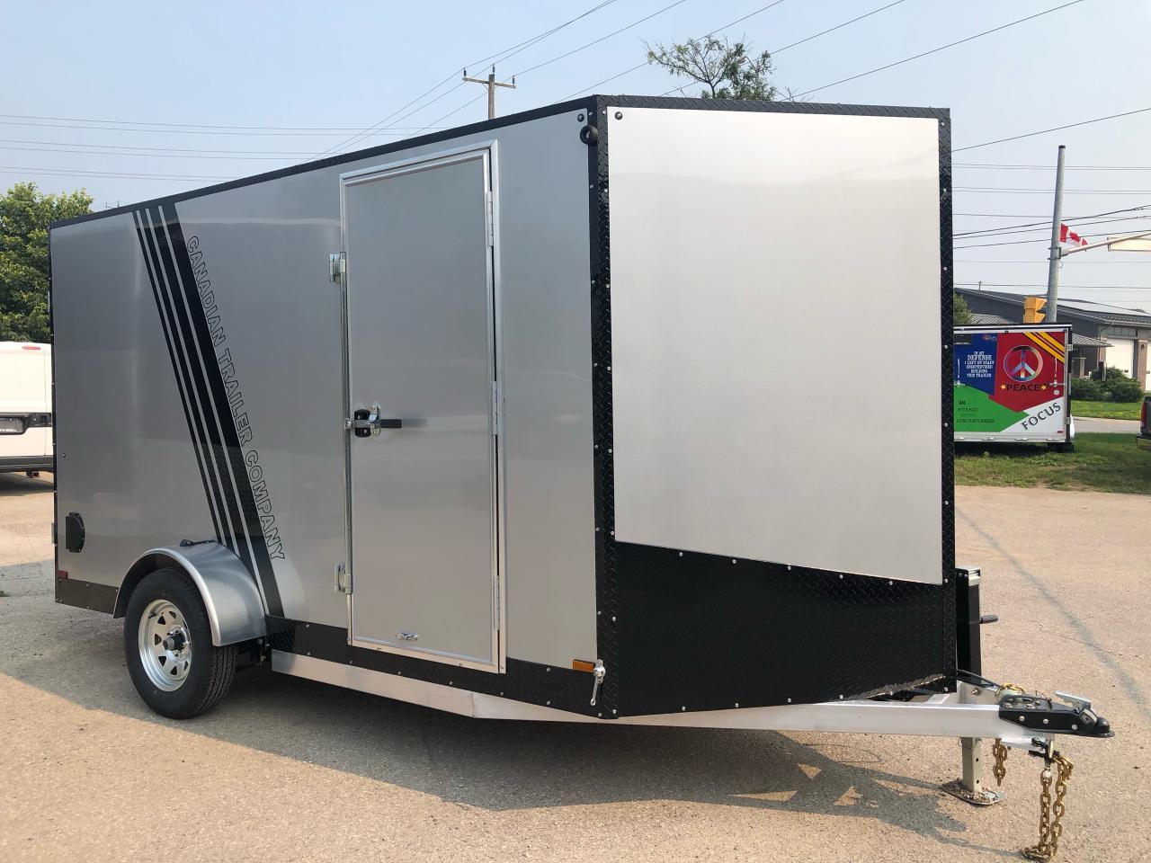 2021 Canadian Trailer Company 6x12  V-Nose Cargo Trailer