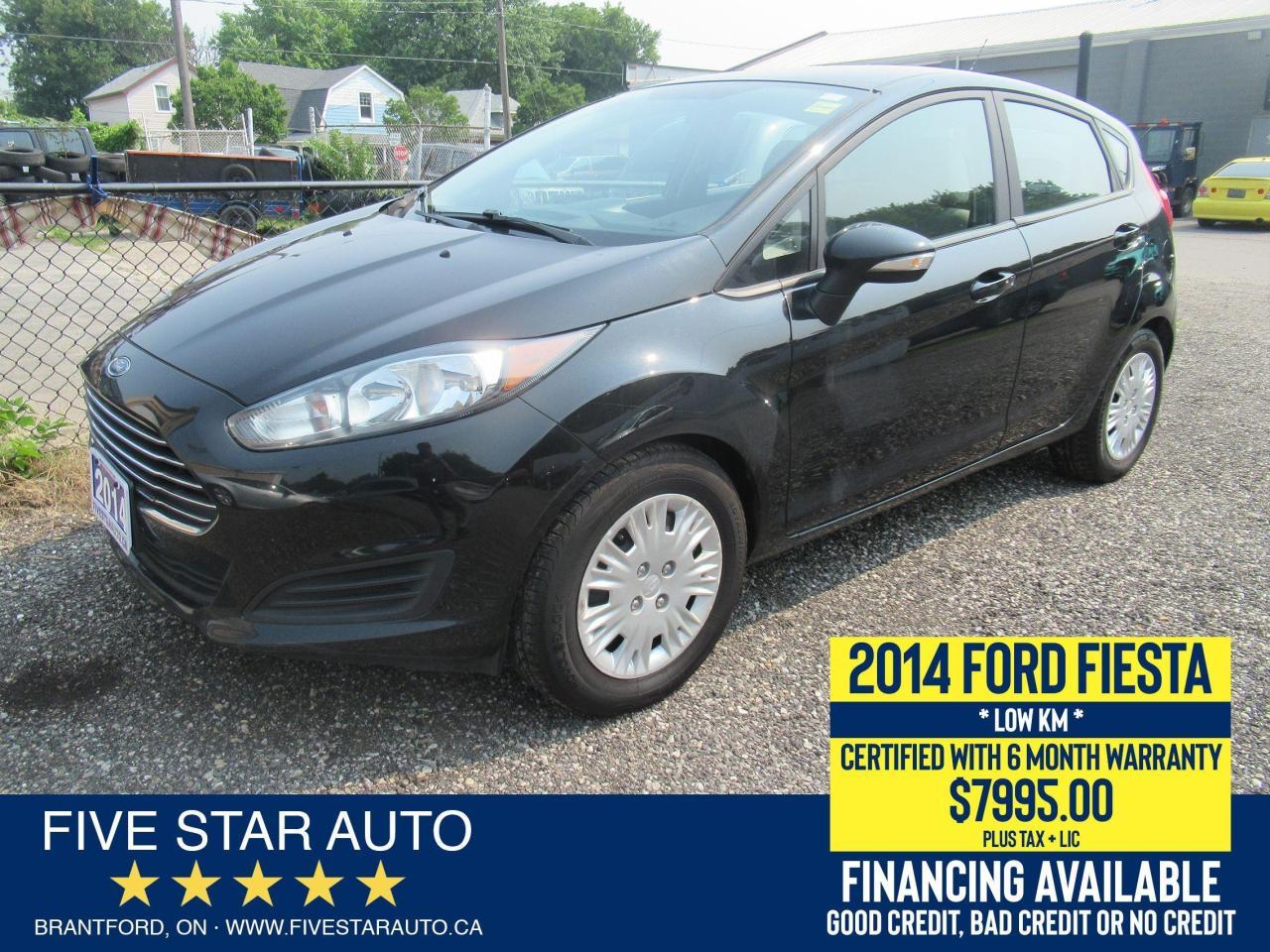 2014 Ford Fiesta SE - Certified w/ 6 Month Warranty
