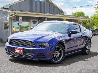 Used 2014 Ford Mustang 2DR COUP V6, LOW KMS, B.TOOTH, LEATHER INT, H/SEAT for sale in Orillia, ON
