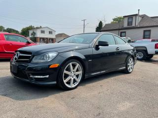 Used 2012 Mercedes-Benz C-Class C 350**NAV**LEATHER/HEATED SEATS**BACK UP CAM for sale in Caledonia, ON