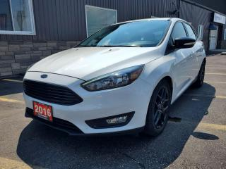 Used 2016 Ford Focus SE-SPORT APPEARANCE PKG-BLUETOOTH-REAR CAMERA- for sale in Tilbury, ON