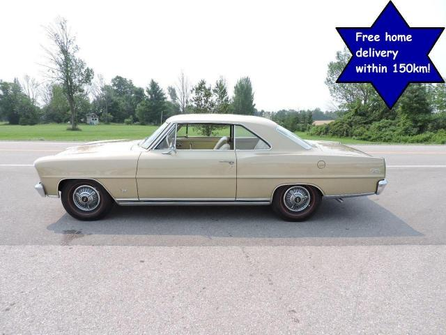 1966 Chevrolet Nova 283 Automatic A/C California car 100% Beautiful