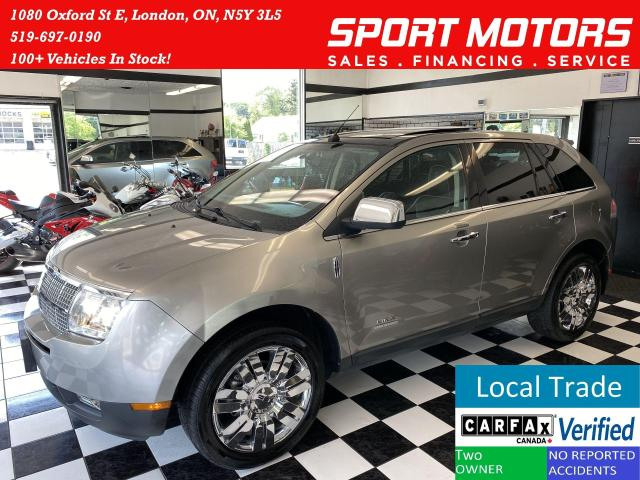 2008 Lincoln MKX AWD+Vented Leather Seats+GPS+Roof+CLEAN CARFAX
