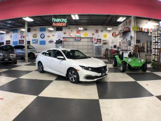 Used 2020 Honda Civic LX AUT0 A/C REAR CAMERA H/SEATS BLUETOOTH 56K for sale in North York, ON