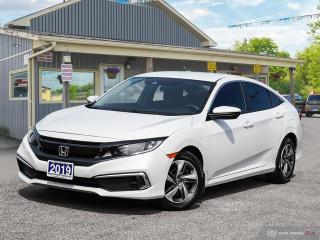 Used 2019 Honda Civic LX, ECON, R/V CAM, HEATED SEATS, B.TOOTH, USB for sale in Orillia, ON