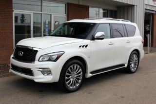 Used 2016 Infiniti QX80 4X4 - DRIVER ASSISTANCE TECH - 22 INCH FORGED WHEELS for sale in Saskatoon, SK