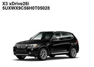 Used 2017 BMW X3 xDrive+GPS+Camera+Pano Roof+Sport Leather Seats for sale in London, ON