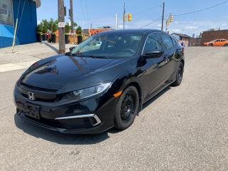 Used 2019 Honda Civic LX/backupcamera/htseats/1owner/certified for sale in Toronto, ON