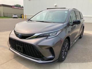 New 2021 Toyota Sienna XSE 7-Passenger HYBRID + XSE PACKAGE + 7 PASSENGER! for sale in Cobourg, ON