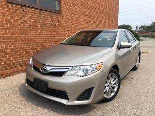 Used 2013 Toyota Camry ONE OWNER /LE/REARVIEW CAMERA /SAFETY AND WARRANTY for sale in Oakville, ON