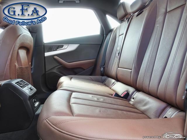 2017 Audi A4 KOMFORT, QUATTRO, LEATHER SEATS, AWD, MEMORY SEATS Photo8