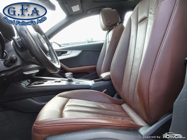 2017 Audi A4 KOMFORT, QUATTRO, LEATHER SEATS, AWD, MEMORY SEATS Photo10